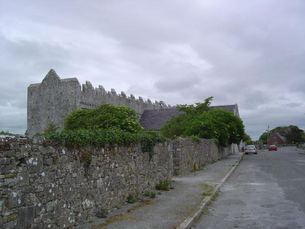 View of Ardfert from the main road.