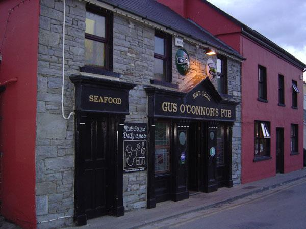 We headed to our favorite pub in Doolin - Gus O'Connor's