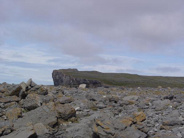 Dun Aengus from the 'worm hole'.