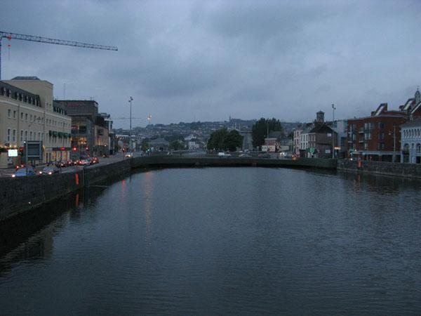The River Lee at dusk... about 10:30pm.