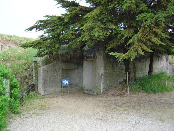 A good use for a former German bunker.