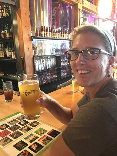 House-brewed Saison