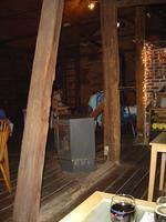 A brewpub in an old barn.