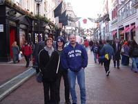 Doing a bit of x-mas shopping on Grafton St.
