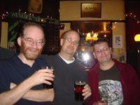 Our friend Paul (left) and Dave, who works at the Wenlock Arms.