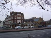The Mawson Arms, the pub at the Fullers brewery.
