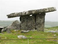 Poulnabrone dolmen in the Burren.