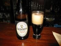 A large bottle of Guinness...the purists way of drinking Guinness.