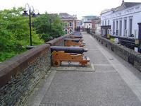 Part of the Derry city walls.